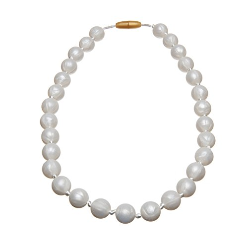 Jelly Juniors My First Pearls Baby Teething Necklace (Jelly Teething Necklace compare prices)