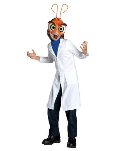 Monster Vs Alien Dr Cockroach Md Kids Boys Costume
