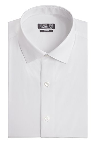 kenneth-cole-mens-chambray-slim-fit-solid-spread-collar-dress-shirt-white-16-neck-32-33-sleeve