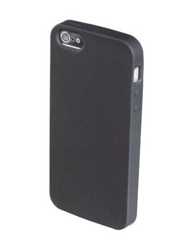 Coconut iPhone 5 5S Hülle Silikon Case - Schwarz / Black (iPhone Hülle - iPhone Cover)