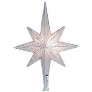 #!Cheap Noma/Inliten-Import Slv Mesh Star Tree Top V49355 Christmas Lights Tree Topper
