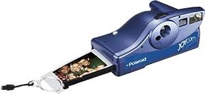 Polaroid Silver/Blue JoyCam Instant Camera