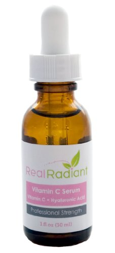 Organic Vitamin C Serum by Real Radiant
