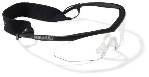 Unsquashable-Gafas-protectoras-de-squash-lente-transparente-color-negro