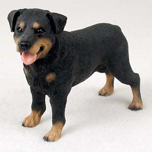 Amazon.com: Rottweiler Figurine - Gift for Dog lovers: Toys & Games