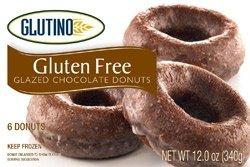 Glutino Gluten Free Chocolate Glazed Doughnuts Donuts 12.0 OZ (pack of 6)