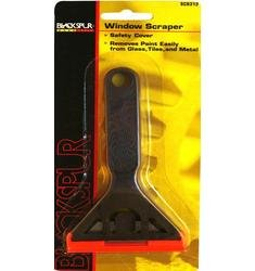Blackspur 2 X Window Scraper Removes Paint, Caulk, Grease From Glass, Tiles, Hob'S, Cookers