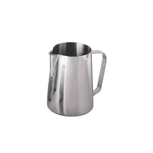 New 20 oz Espresso Coffee Milk Frothing Pitcher, Stainless Steel, 18/8 gauge (Metal Steamer Pitcher compare prices)