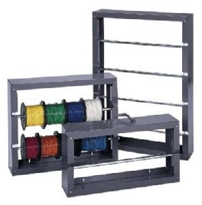 Durham Rack, Wire Spool, 4 Rows, 26-1/8'W X 37-1/8'H X 6' - DURHAM MFG CO - DU-4Row - ISBN:B000PDJCLU