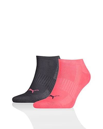 PUMA Pack x 12 Calcetines Combo Coral / Negro