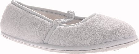 Smartdogs Women's SD2095 Mirage Microterry Ballerina Slippers,Light Blue,Med/Large(7.5-8)