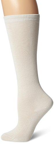 Terramar Adult Thermasilk Mid Calf Sock Liner (X-Large, Natural)