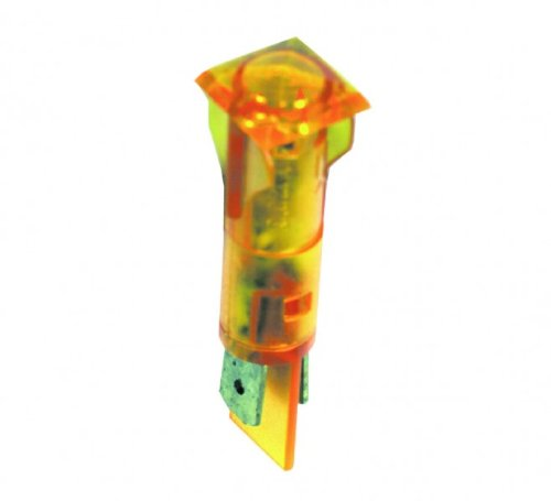 Lampe,Kontroll- gelb, viereckig