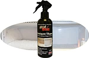 Good Ideas Instant Easy Thaw Defrost Spray (813) De-ice and defrost your freezer in minutes.