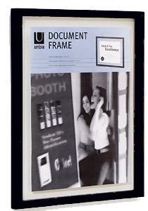 The Original Umbra FLOATER DOCUMENT frame in ebony black - 11x14