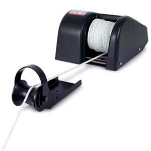 Bass Boat Style Rope Anchor Winch