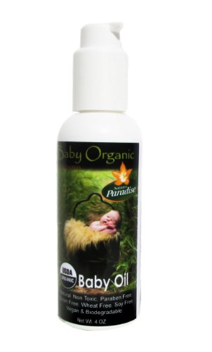 Baby Oil - Unscented Massage Oil - Organic By Nature'S Paradise