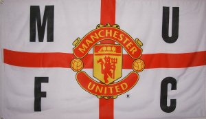 Official 5ft x 3ft Flag of Manchester United FC