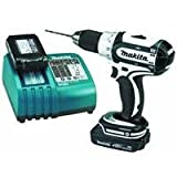 Makita LXFD01CW 18-Volt Compact Lithium-Ion Cordless 1/2-Inch Driver-Drill Kit image