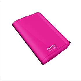 A-DATA ACH94-320GU rosa pink Discos duros externos de menos de 70 euros external hard drives Less than 100$ baratos cheap