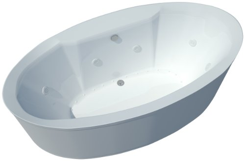 Sea Spa Tubs S3468Sd Tubs Suisse 34 By 68 By 23-Inch Rectangular Air And Whirlpool Water Jetted Bathtub, White