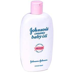 Johnson Amp Johnson Johnson S Creamy Baby Oil 2010