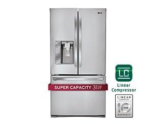 LG LFX31925ST Super Capacity 3 French Door Refrigerator