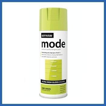 Rust-Oleum AE0240003E8 400ml Mode Ultra High Gloss Spray Paint - Lime Green