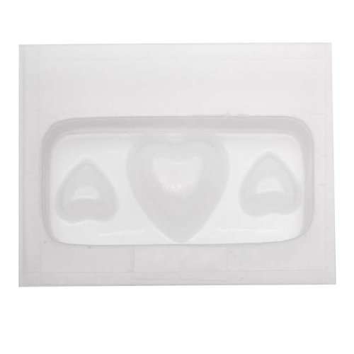 Resin Epoxy Mold For Jewelry Casting - Assorted Hearts (Resin Molds Heart compare prices)
