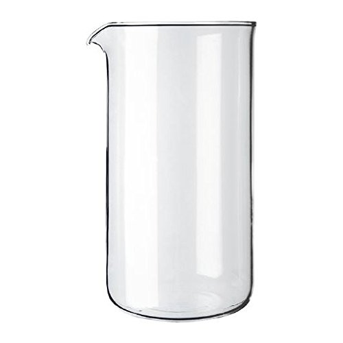 Bodum Transparent Glass Spare Coffee Maker Beaker 3 Cup 0.35L (12Oz)
