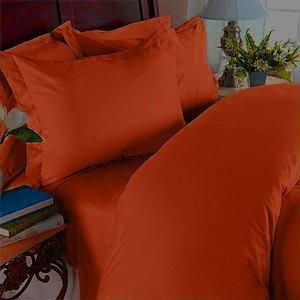 1500 Thread Count 100% Egyptian Cotton Cal King Sheet Set (Deep Pocket), Pumpkin front-958969