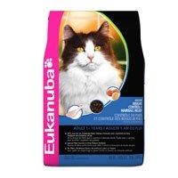 Eukanuba Adult Indoor Weight Control & Hairball Formula Dry Cat Food