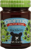 Crofters Organic Just Fruit Spread Blackberry