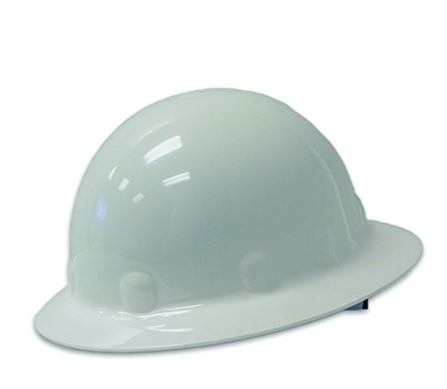 Fibre-Metal Super Eight Full Brim Ratchet Hard Hat White (White Full Brim Hard Hat compare prices)