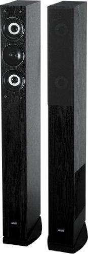 AEG-LB-4710-3-Wege-Bassreflex-Lautsprecherboxen-500-Watt-PMPO-Verstrker-Lautsprecherkabel-Paar-schwarz
