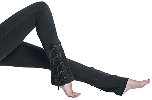 Gothicana by EMP Rock Buckle Leggings Leggings nero L