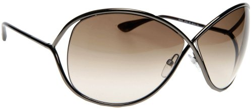 Tom Ford Miranda FT0130 Sunglasses - 36F Shiny Bronze (Gradient Bronze Lens) - 68mm