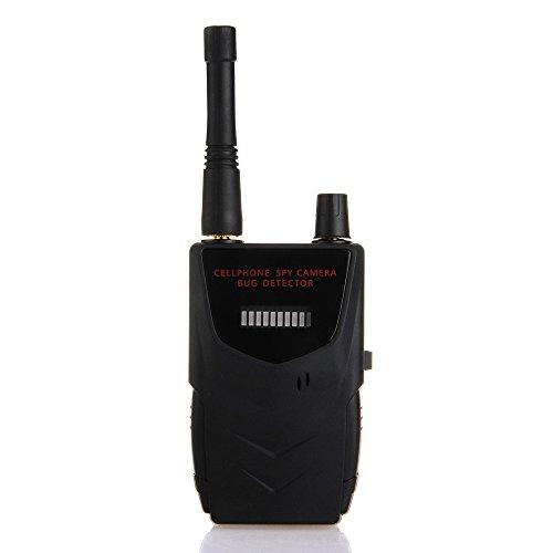 Mini Wireless Camera Bug Tap Signal Detector Anti-Hidden Detecting Sound Alert
