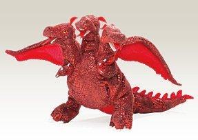 Red Three-Headed Dragon