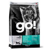 PETCUREAN 152408 Go Fit Plus Free Grain Free Adult for Dog, 25-Pound