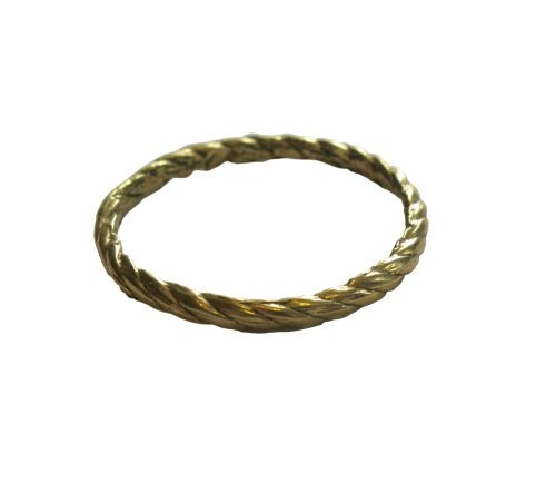 Kiel Mead-Medium Rope Ring Brass - 4
