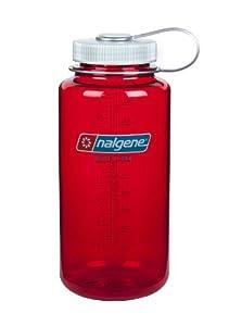 Nalgene 32oz Tritan Wid Mouth Bottle Outdoor Red, 32 oz N