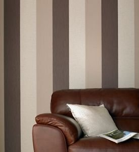 Superfresco Colour Java Wallpaper - Chocolate by New A-Brend