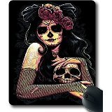 Dia De Los Muertos Day Of The Dead Face Skull Flower HAC1014173 Custom?Cloth?Top?Mouse?Pad/Mouse?Mat