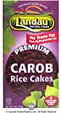 Landau Kosher Premium Carob Rice Cakes 6 Individually Wraped Cakes 5 oz