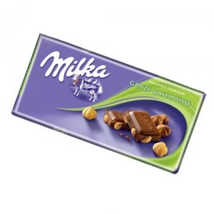 World's Best Milka Chocolate - Whole Nuts, 10