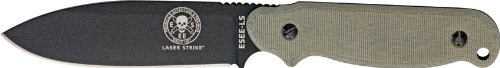 ESEE Knives LSP Laser Strike Fixed Blade Knife with Canvas Micarta Handles (Micarta Fixed Blade Knife compare prices)