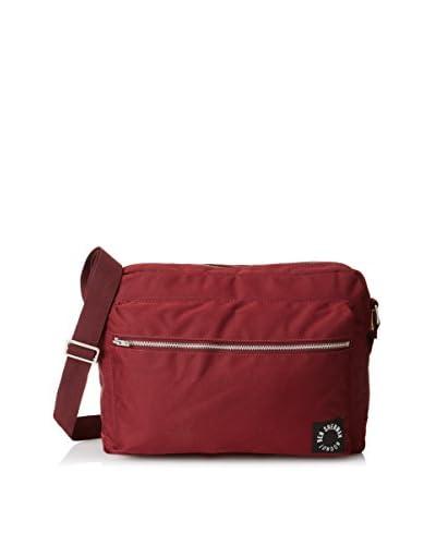 Ben Sherman Men's Pack Range Flight Bag, Deep Burgundy