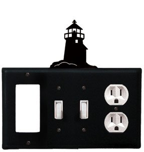 Lighthouse - Gfi, Switch, Switch, Outlet Electric Cover