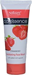 Natures Essence Strawberry Exfoliating Facewash, 100ml